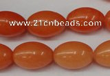 CCN121 15.5 inches 13*18mm rice candy jade beads wholesale