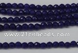 CCN1211 15.5 inches 4mm faceted round candy jade beads wholesale
