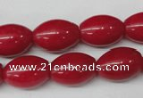 CCN124 15.5 inches 13*18mm rice candy jade beads wholesale