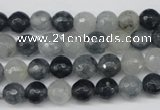 CCN1263 15.5 inches 8mm faceted round candy jade beads wholesale
