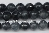 CCN1264 15.5 inches 10mm faceted round candy jade beads wholesale