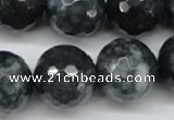 CCN1269 15.5 inches 20mm faceted round candy jade beads wholesale