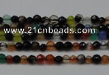 CCN1317 15.5 inches 3mm faceted round candy jade beads wholesale