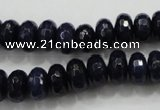 CCN1434 15.5 inches 6*10mm faceted rondelle candy jade beads