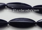 CCN1575 15.5 inches 15*40mm marquise candy jade beads wholesale