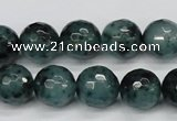 CCN1944 15 inches 12mm faceted round candy jade beads wholesale