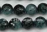 CCN1945 15 inches 14mm faceted round candy jade beads wholesale