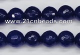 CCN1964 15 inches 12mm faceted round candy jade beads wholesale