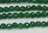 CCN1972 15 inches 8mm faceted round candy jade beads wholesale