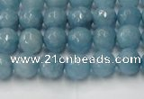 CCN2016 15 inches 6mm faceted round candy jade beads wholesale
