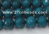 CCN2046 15 inches 10mm faceted round candy jade beads wholesale