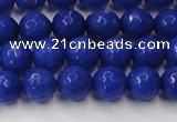 CCN2066 15 inches 8mm faceted round candy jade beads wholesale