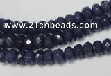 CCN2112 15.5 inches 4*6mm faceted rondelle candy jade beads