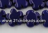 CCN2665 15.5 inches 16mm carved flower candy jade beads wholesale