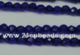 CCN2803 15.5 inches 2mm tiny faceted round candy jade beads