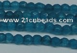 CCN2815 15.5 inches 3mm tiny faceted round candy jade beads