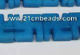 CCN3962 15.5 inches 20*20mm svastika candy jade beads wholesale