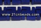 CCN3963 15.5 inches 20*20mm svastika candy jade beads wholesale