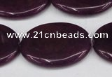 CCN3992 15.5 inches 30*40mm oval candy jade beads wholesale