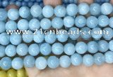 CCN5002 15.5 inches 8mm & 10mm round candy jade beads wholesale