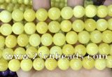 CCN5010 15.5 inches 8mm & 10mm round candy jade beads wholesale