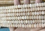 CCN5132 15 inches 5*8mm faceted rondelle candy jade beads