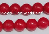 CCN52 15.5 inches 12mm round candy jade beads wholesale