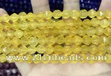 CCN5255 15 inches 8mm faceted nuggets candy jade beads