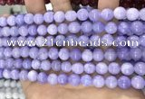 CCN5353 15 inches 8mm round candy jade beads Wholesale