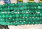 CCN5419 15 inches 8mm round candy jade beads Wholesale