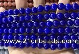CCN5437 15 inches 8mm round candy jade beads Wholesale