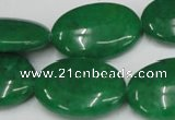 CCN548 15.5 inches 18*25mm oval candy jade beads wholesale