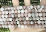 CCN5712 15 inches 8mm faceted round candy jade beads