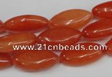 CCN573 15.5 inches 10*20mm marquise candy jade beads wholesale