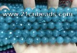 CCN5782 15 inches 10mm faceted round candy jade beads