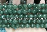 CCN5825 15 inches 10mm faceted round candy jade beads