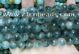 CCN5826 15 inches 10mm faceted round candy jade beads