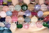 CCN5911 15 inches 15mm flat round candy jade beads Wholesale