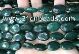 CCN5976 15 inches 13*18mm faceted oval candy jade beads