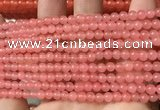 CCN6011 15.5 inches 4mm round candy jade beads Wholesale