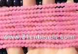 CCN6015 15.5 inches 4mm round candy jade beads Wholesale