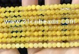 CCN6018 15.5 inches 4mm round candy jade beads Wholesale