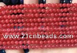 CCN6025 15.5 inches 4mm round candy jade beads Wholesale