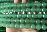 CCN6079 15.5 inches 12mm round candy jade beads Wholesale