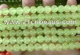 CCN6100 15.5 inches 8mm round candy jade beads Wholesale