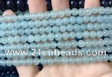 CCN6125 15.5 inches 6mm round candy jade beads Wholesale