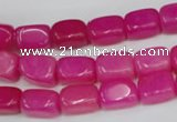 CCN625 15.5 inches 8*12mm nuggets candy jade beads wholesale