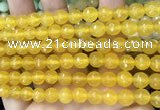CCN6309 15.5 inches 8mm faceted round candy jade beads Wholesale