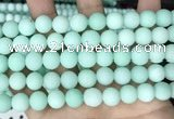 CCN6360 15.5 inches 6mm, 8mm, 10mm & 12mm round matte candy jade beads