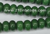 CCN94 15.5 inches 8*12mm rondelle candy jade beads wholesale